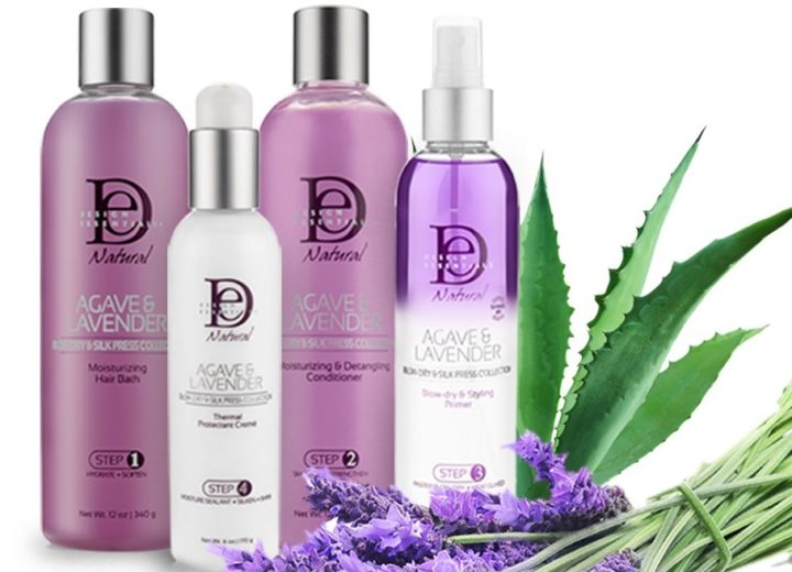 Win DE Natural Agave & Lavender Blow Dry & Silk Press set