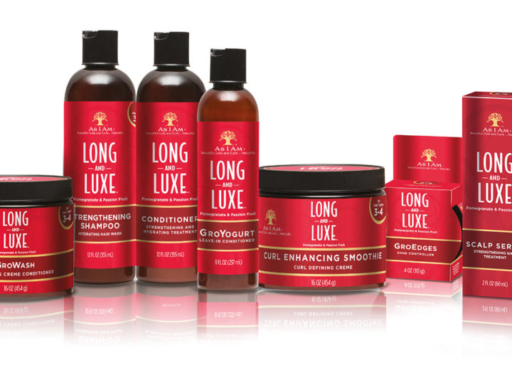 5 sets of five products from the AS I AM LONG & LUXE range to be won