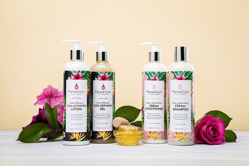 What's New | Flora & Curl styling range