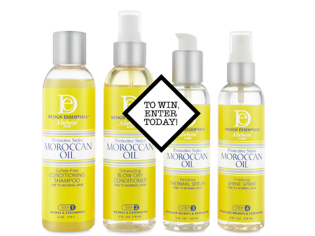 5x Design Essentials Moroccan Oil Sets to be won