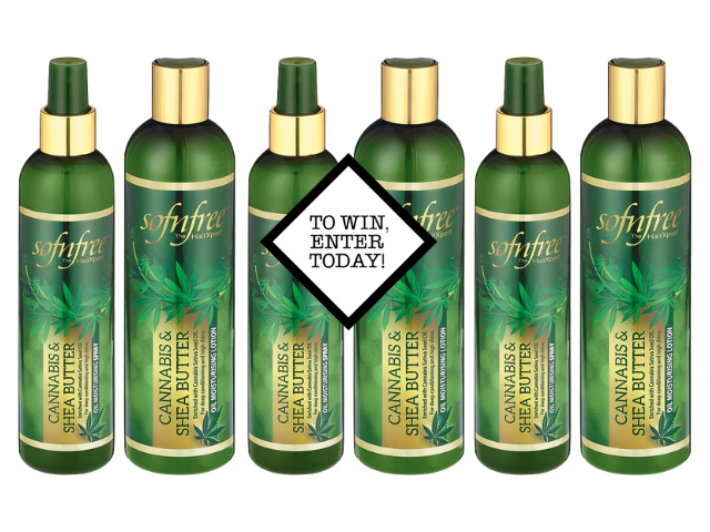 10x Sofn' Free Cannabis & Shea Butter Lotion and Spray duos