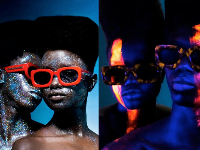 Komono x Daily Paper eyewear campaign