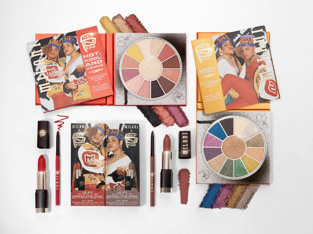 Ooh Baby Baby! Salt-N-Pepa make-up range