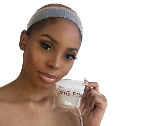 Wig Fix   Keep your hair on with this new invention