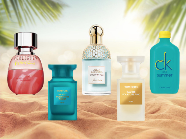 5 Perfumes that smell like the beach
