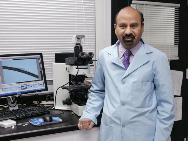 Afro hair pioneer: Dr Ali N. Syed