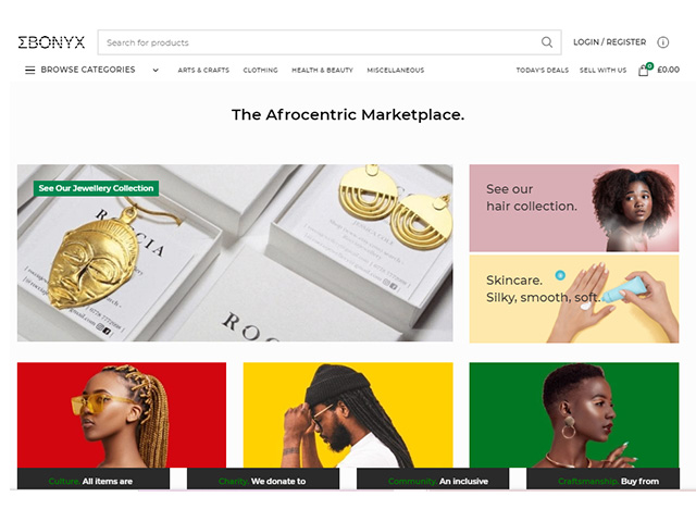 Ebonyx | New online platform for afrocentric items