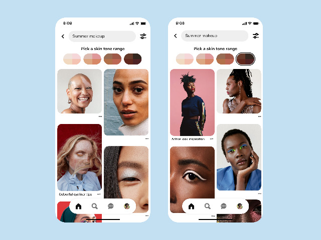 Pinterest pushes to promote diversity with new updates