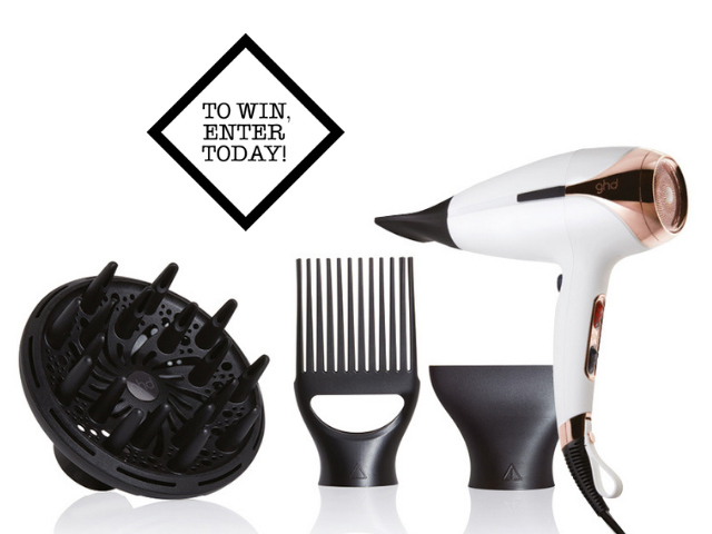 1x ghd helios professional hairdryer with attachments