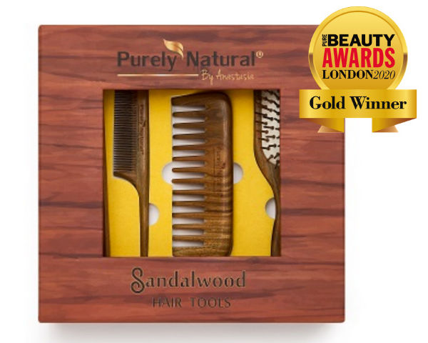 Purely Natural by Anastasia wins gold!