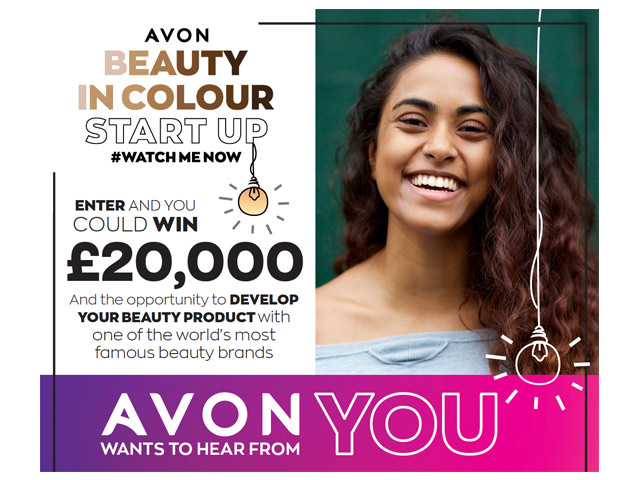 Avon launches Beauty In Colour Start Up