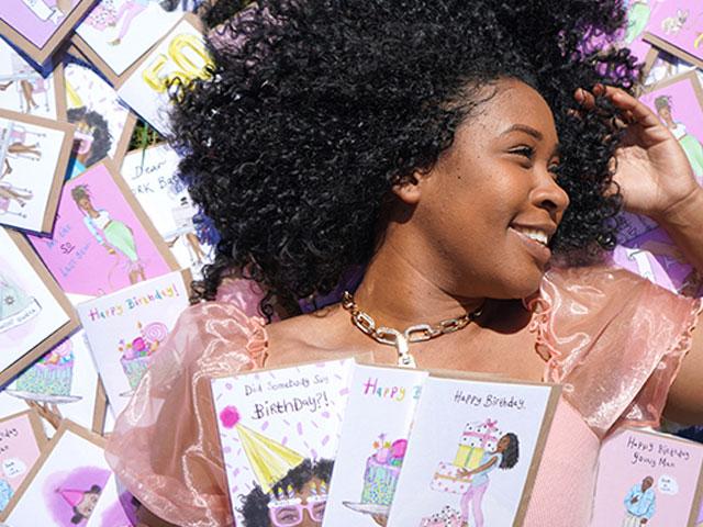 Black greeting card brand makes award finals