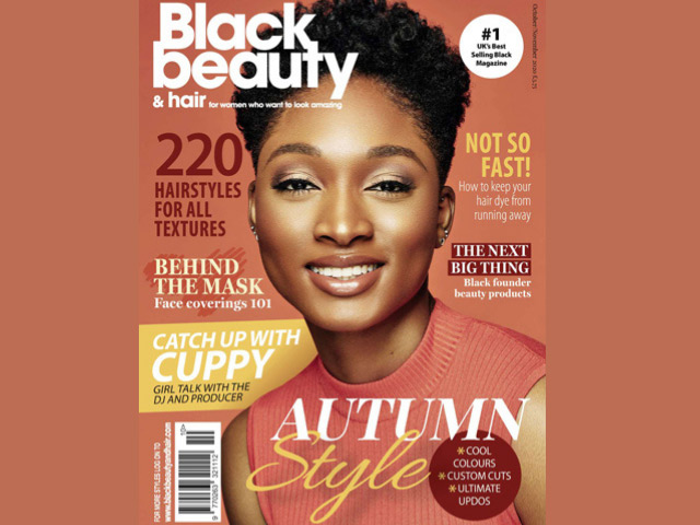 Praise Ilori | Black Beauty & Hair's latest cover girl