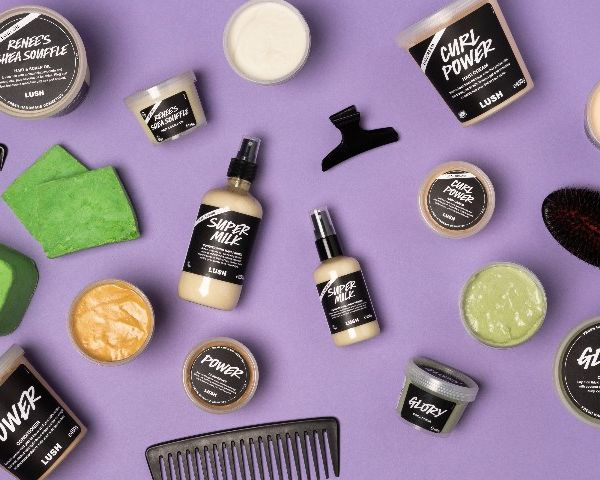 Lush expands their afro hair care range