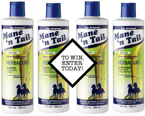 10x Mane 'N Tail Herbal Gro Duos To Be Won in Our Freebie Giveaway